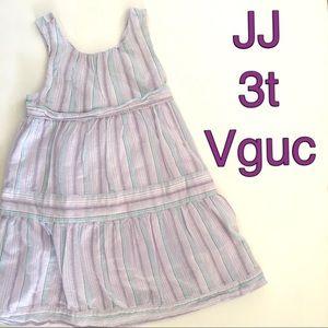 Janie and jack Purple Striped Dress
